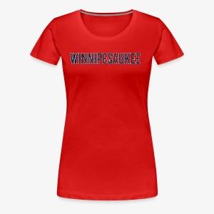 Lake Winnipesaukee Vintage T-Shirt - Women's Premium T-Shirt