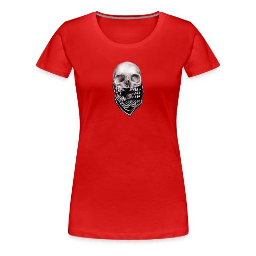 scul msk - Women's Premium T-Shirt