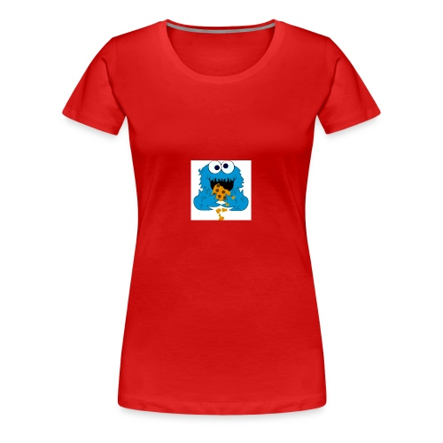 Cookie Monster - Women's Premium T-Shirt