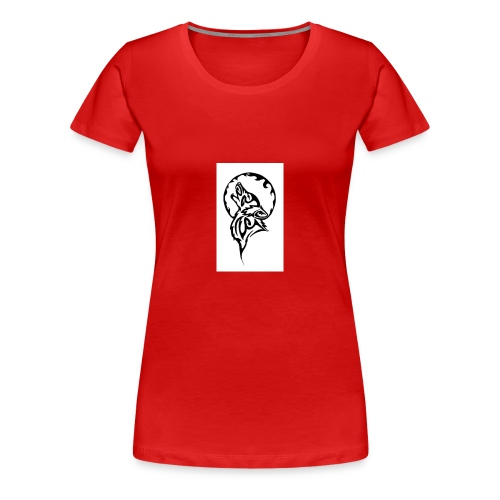 dark wolf - Women's Premium T-Shirt