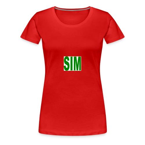 SIM - Women's Premium T-Shirt