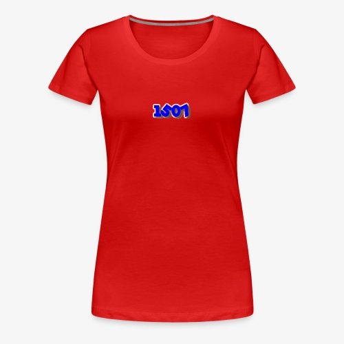 1507 Blue/Red - Women's Premium T-Shirt