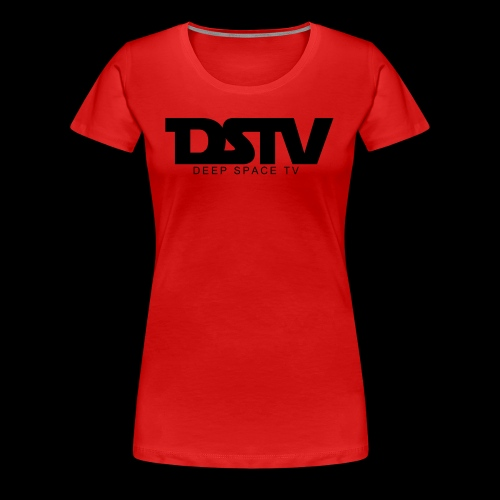DEEP SPACE TV - Women's Premium T-Shirt