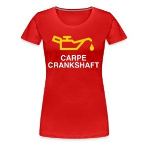 Carpe Crankshaft - Women's Premium T-Shirt