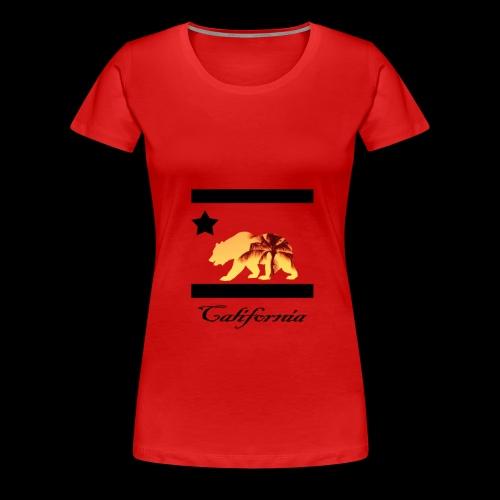 estampa carlifornia 2 - Women's Premium T-Shirt