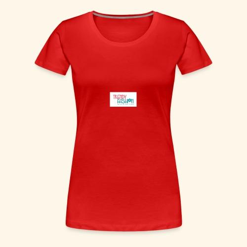 Trendy Fashions Go with The Trend @ Trendyz Shop - Women's Premium T-Shirt