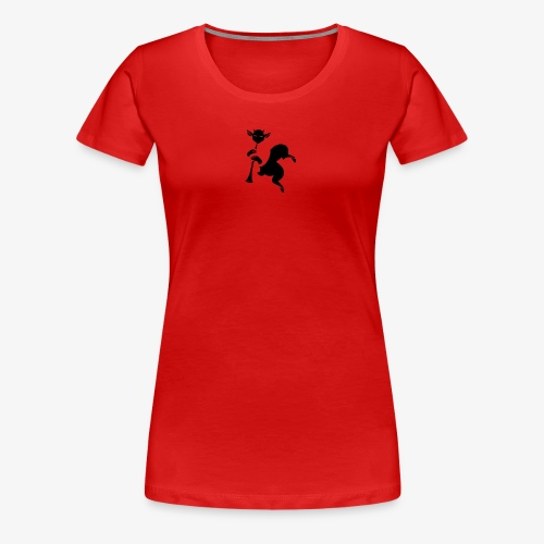 imagika black - Women's Premium T-Shirt