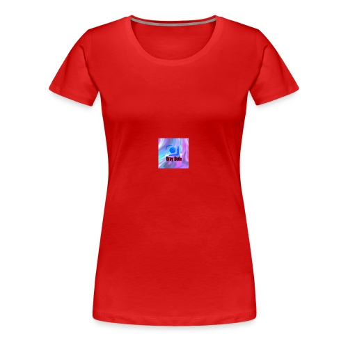 it is my vloging channel logo - Women's Premium T-Shirt