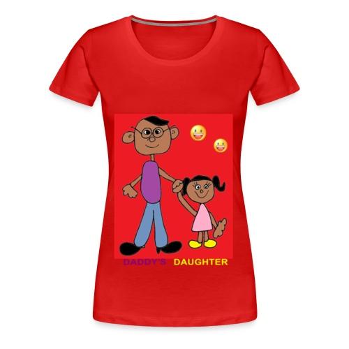 Dad's daughter - Women's Premium T-Shirt