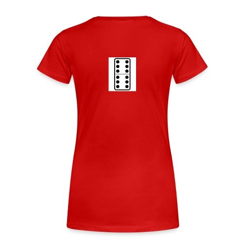 Domino - Women's Premium T-Shirt