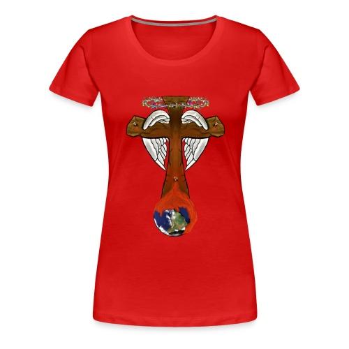 cross - Women's Premium T-Shirt