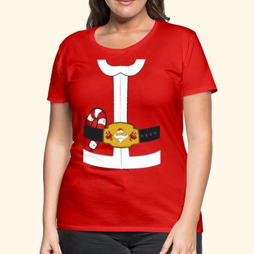 Santa Coat - Women's Premium T-Shirt