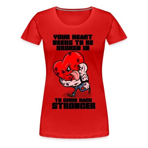 Fighting Heart - Women's Premium T-Shirt