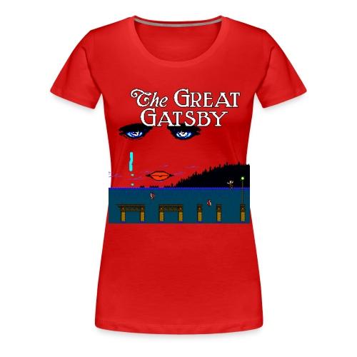 Great Gatsby Game Tri-blend Vintage Tee - Women's Premium T-Shirt