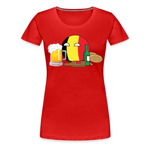 BelgiumBall I - Women's Premium T-Shirt
