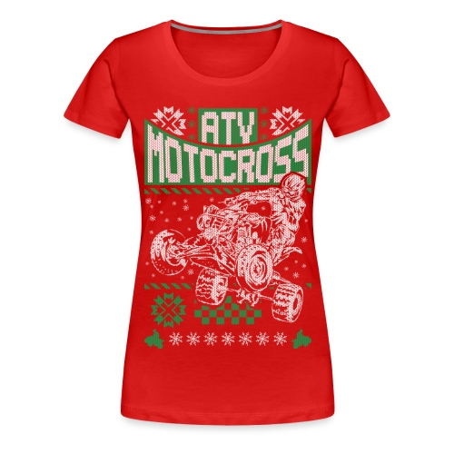ATV Quad Motocross - Women's Premium T-Shirt