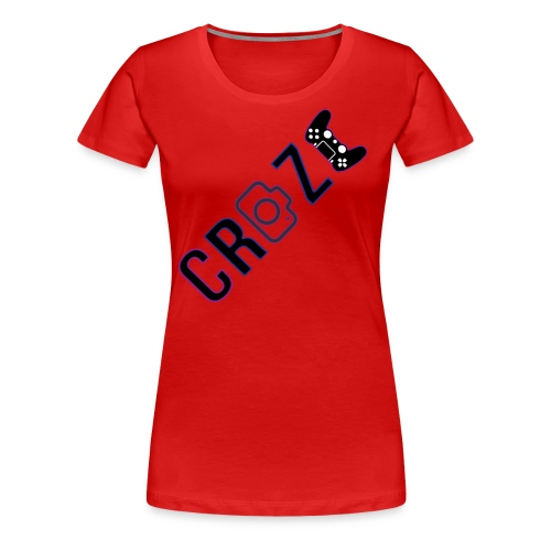 Craze 2018 logo - Women's Premium T-Shirt