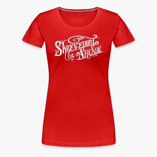 Shreveport Arcade Logo - Women's Premium T-Shirt
