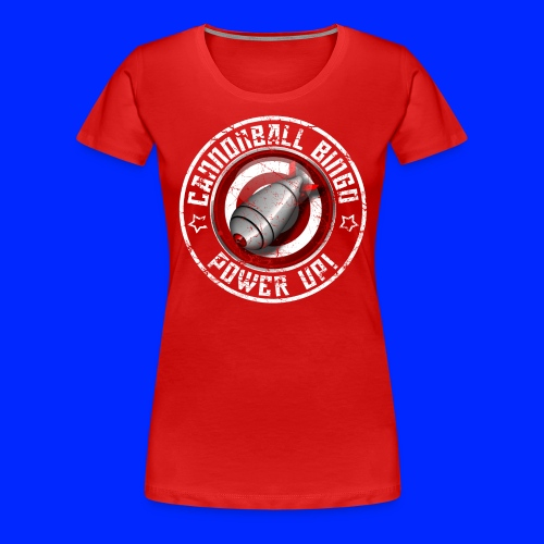 Vintage Daubs Away Power-Up Tee - Women's Premium T-Shirt