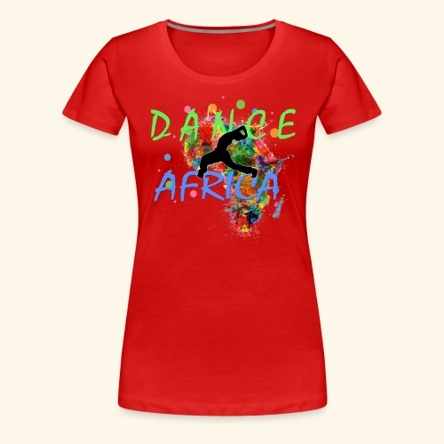 DanceAfrica1 - Women's Premium T-Shirt