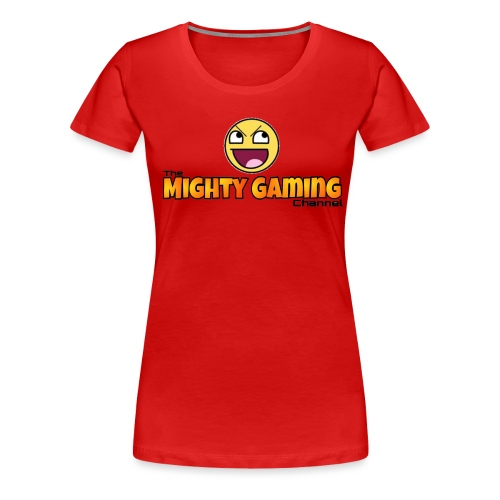 Mighty Gaming Channel Epic Face - Women's Premium T-Shirt
