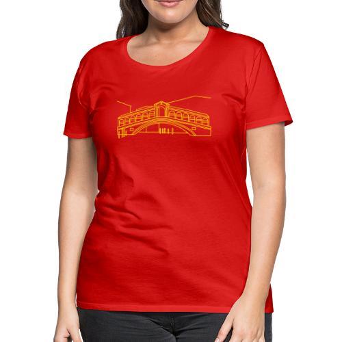 Rialto Bridge Venice - Women's Premium T-Shirt