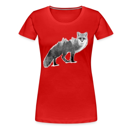 Fox - Save the Forest - Love Nature Store - Women's Premium T-Shirt