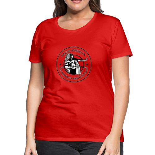 Naga LOGO Outlined - Women's Premium T-Shirt