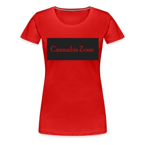 Cannabis Zone - Women's Premium T-Shirt