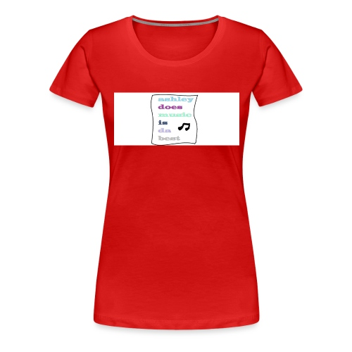 who likes this - Women's Premium T-Shirt