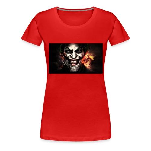 Jokers Evil Scheme - Women's Premium T-Shirt