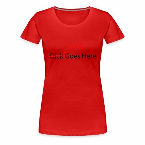 Head goes here - Women's Premium T-Shirt