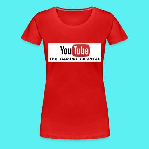 Youtube temp logo - Women's Premium T-Shirt