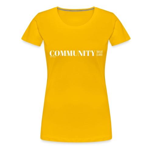 Community Thought Leaders - Women's Premium T-Shirt