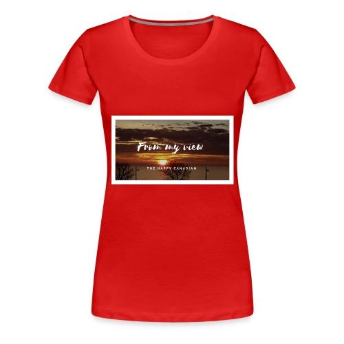 THE HAPPY CANADIAN - Women's Premium T-Shirt