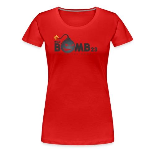 WildBomb23 Black Logo - Women's Premium T-Shirt
