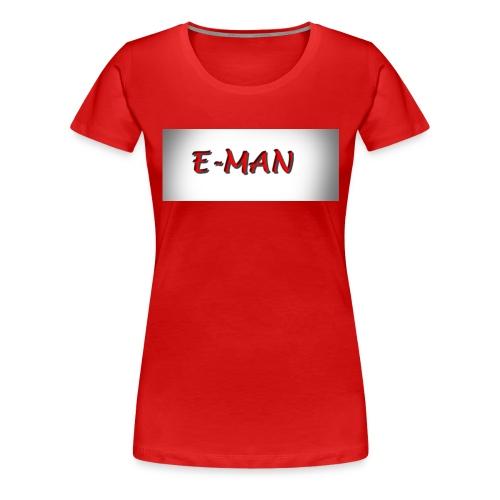 E-MAN - Women's Premium T-Shirt