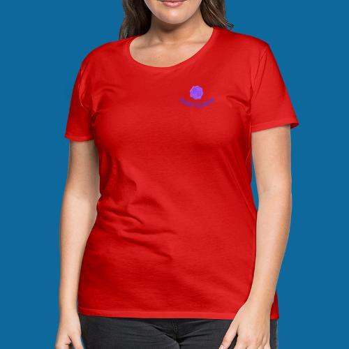 SR logo curved - Women's Premium T-Shirt