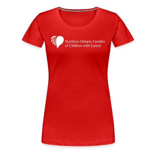Northern Ontario Families of Children with Cancer - Women's Premium T-Shirt