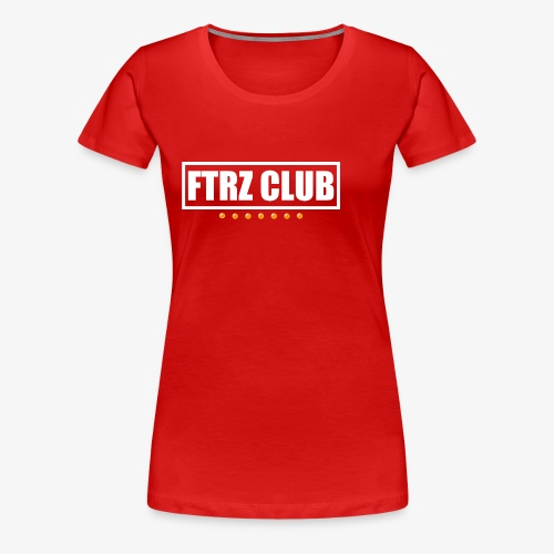 Ftrz Club Box Logo - Women's Premium T-Shirt