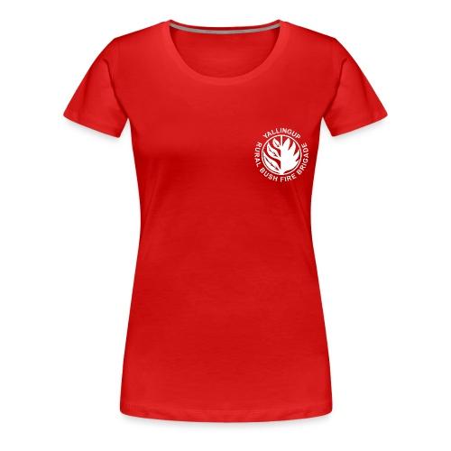 YRVBFB white transparent - Women's Premium T-Shirt