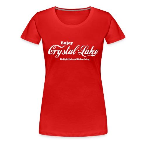 Crystal Lake - Women's Premium T-Shirt