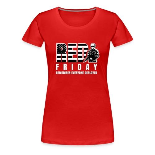 Red Friday Military - Women's Premium T-Shirt