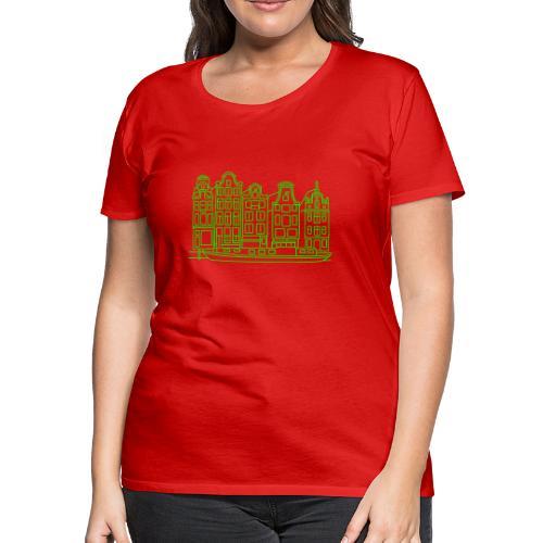 Amsterdam Canal houses - Women's Premium T-Shirt