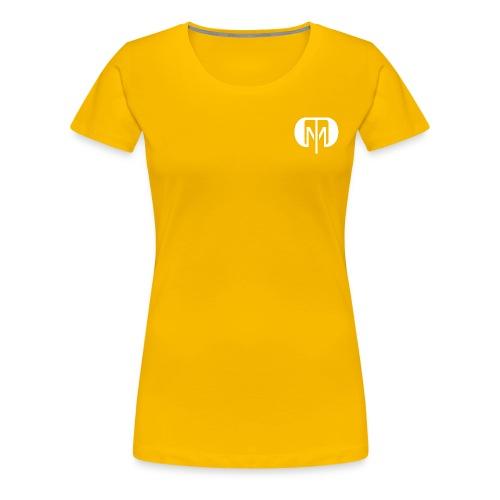 dtdm 2 white png - Women's Premium T-Shirt
