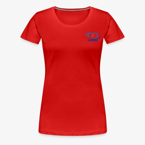 Techbay Logo - Women's Premium T-Shirt