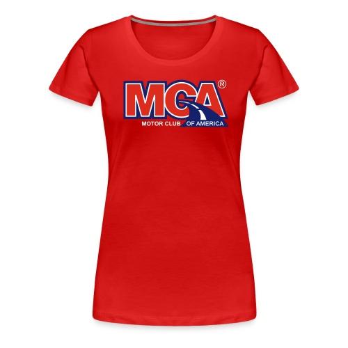 MCA Logo Transparent - Women's Premium T-Shirt