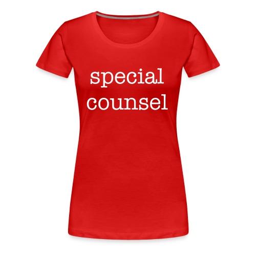 Special Counsel - Women's Premium T-Shirt