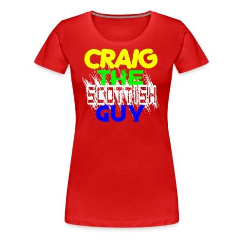 CTSGMultiColor - Women's Premium T-Shirt