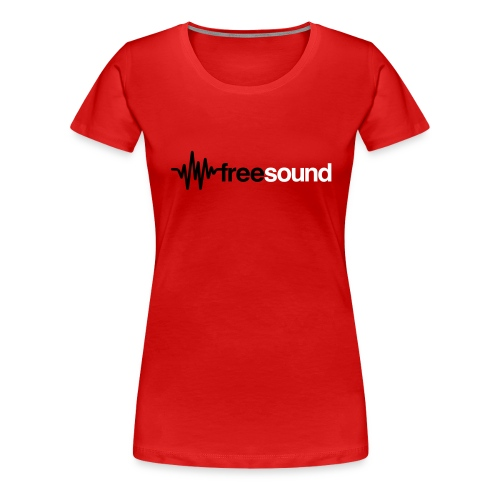 freesound logo tshirt - Women's Premium T-Shirt